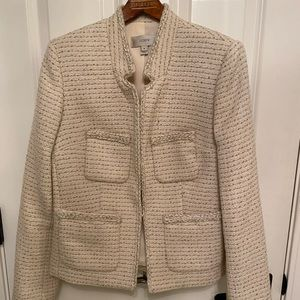 J Crew Wool Tweed Blazer
